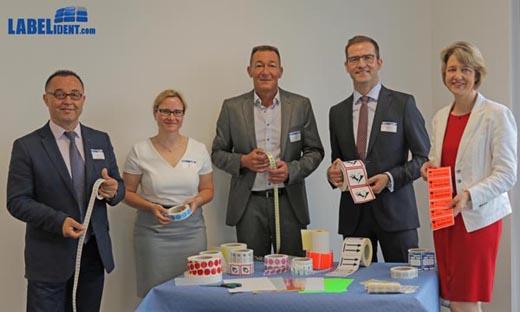 Betriebsbesichtigung bei Labelident GmbH